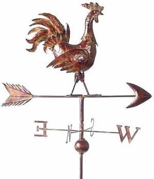 Denk Wetterhahn Metall 165 cm