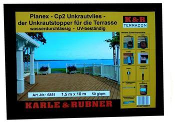 Karle & Rubner Unkrautvlies Planex-Cp2 1,5 x 10m (50 g/m²)