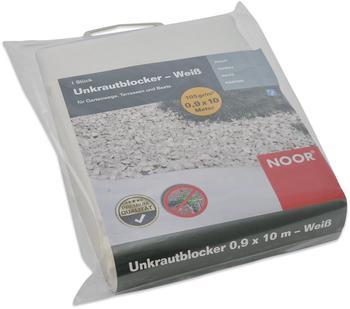 Noor Unkrautblocker weiß 0,9 x 10m (105 g/m²)