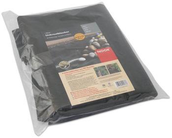 Noor Unkrautblocker schwarz 0,9 x 10m (105 g/m²)