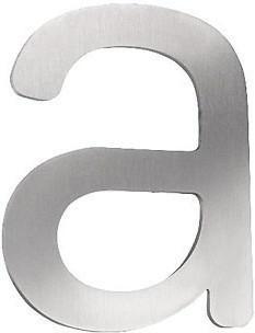 CMD Hausnummer a (Edelstahl)