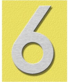 Heibi Midi Hausnummer 6 (Edelstahl)