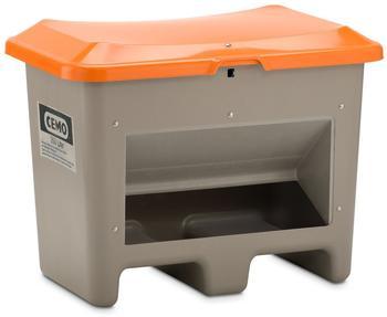 Cemo Plus 3 200 Liter grau orange (mit Entnahmeöffnung, mit Staplertasche)