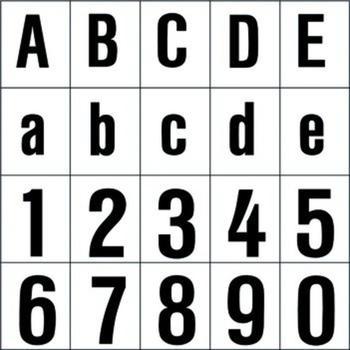 RZB Leuchten Hausnummern-Ziffer 5 (Höhe 120mm)