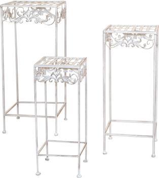 Heinz Hofmann Furniture Blumenständer 3-er Set weiß