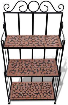 vidaXL Pflanzenregal Mosaik A