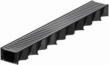 ACO Self Hexaline 2.0 Entwässerungsrinne mit Stahlrost 100 cm (319213)