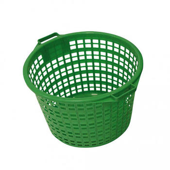 Xclou Garden Kunststoffkorb grün rund 25 kg