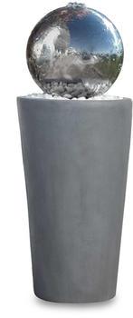 Kiom24 FoBoule LED 75 cm grau