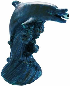Ubbink Wasserspeier Delfine (1) 18cm Bronze-Optik (1386020)