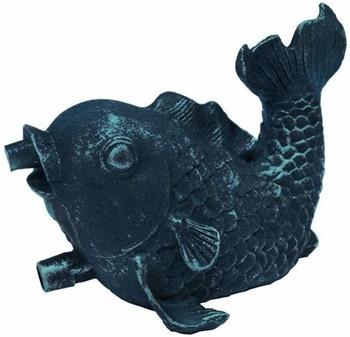 Ubbink Wasserspeier Fisch Polyresin, Bronze-Optik (1386009)