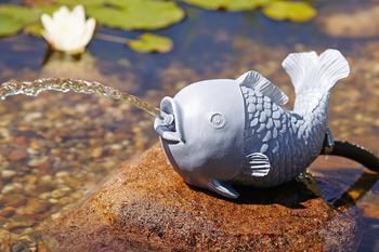 Oase Wasserspeier Fisch Polyresin (36777)