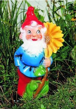 Omü Zwerg mit Sonnenblume 41 cm