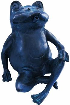 Ubbink Wasserspeier Frosch Polyresin, Bronze-Optik