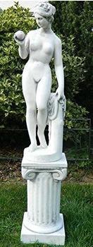 JS-GartenDeko Venus von Canova auf ionischer Säule (H: 94 cm)