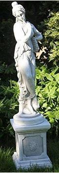 JS-GartenDeko Antike Frauenskulptur aus Steinguss Höhe: 94 cm