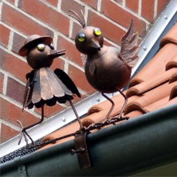 Westerholt Metallfigur Vogelpaar