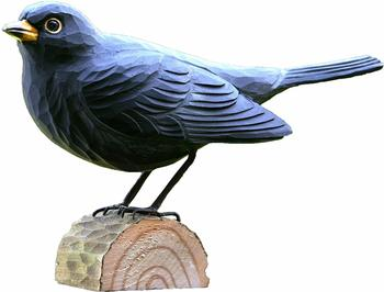 Wildlife Garden DecoBird Amsel