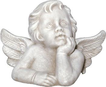 Tiefes-Kunsthandwerk Engel Skulptur (klein) Höhe: 10,5 cm