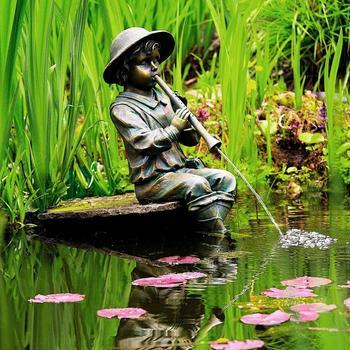 Pötschke Ambiente Junge mit Flöte