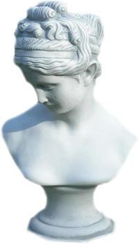 JS-GartenDeko Beton Figur Büste Venus von Cannova H 44 cm