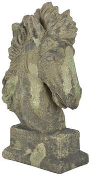 Esschert Aged Ceramic Collection - Horse head moss