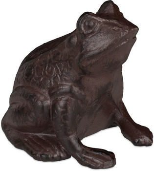 Relaxdays Cast Iron Decorative Frog