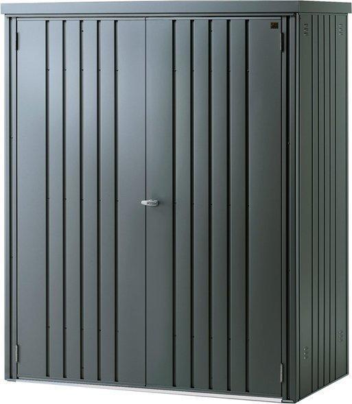 Biohort Metallgeräteschrank (155 x 83 cm) dunkelgrau