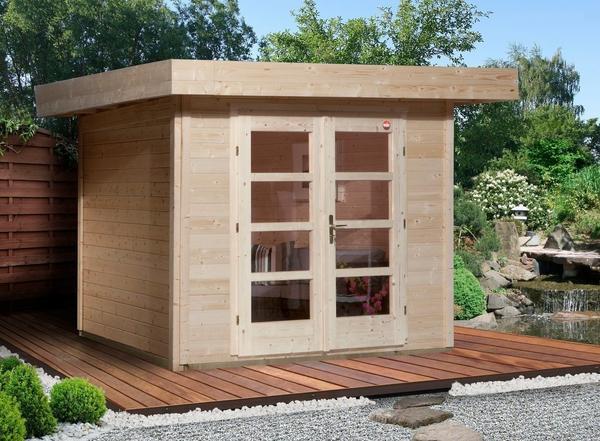 Weka Designhaus 126 Gr.3 natur (295 x 300 cm)