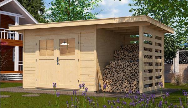 weka Gartenhaus 179 A 4,45 x 2,40 m natur