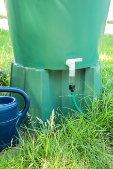Elgo Bewässerungssystem mit Regentonnen-Anschluss (36 Tropfer)
