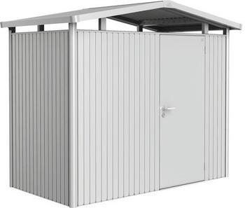 Biohort Panorama mit Einzeltür 273 x 158 cm (Gr. P 1) -silber-metallic-