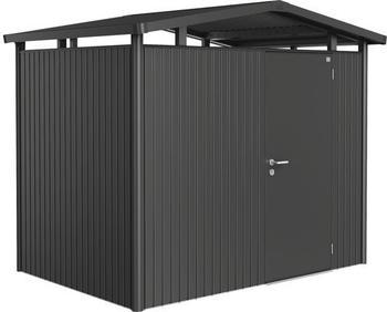 Biohort Panorama mit Einzeltür 273 x 198 cm (Gr. P 2) -dunkelgrau-metallic-
