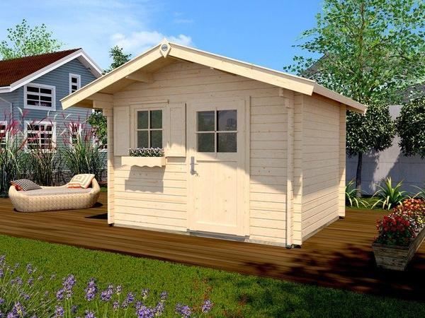 weka Gartenhaus 132 A 3,00 x 2,50 m natur