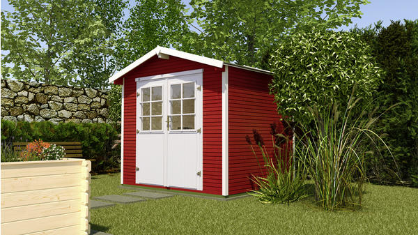 weka Gartenhaus 218