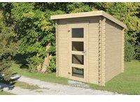 steiner-shopping-gartenhaus-g240-28-mm-blockbohlenhaus-grundflaeche-3-06-m2-pultdach