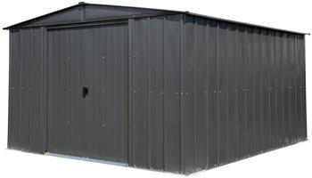 SPACEMAKER Metallgerätehaus 10x12 grau