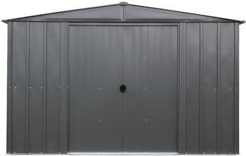 "SPACEMAKER Metallgerätehaus ""10 x 10"",grau,8,5 m²"