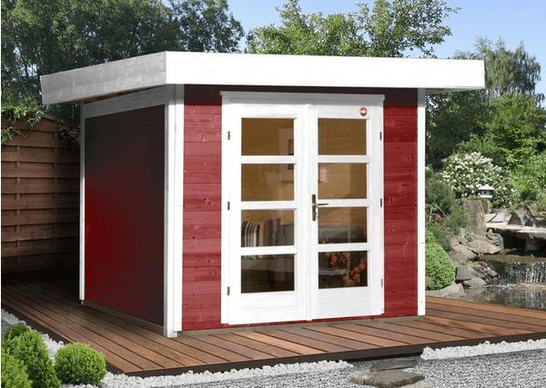 Weka Designhaus 126 Gr.3 schwedenrot (295 x 300 cm)