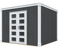 skanholz-gartenhaus-cube-xxl-300-x-300-cm-schiefergrau