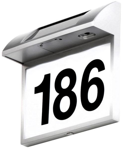 Globo Solar Hausnummernschild (3379)