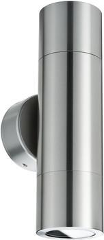 Paulmann Wandaufbauleuchte LED Flame 2x3,5W Eisen IP44 spritzwassergeschützt