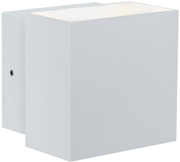 Paulmann Wandaufbauleuchte LED Cybo eckig 2x3W weiß 100x100mm