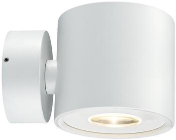 Paulmann Wandaufbauleuchte Special Line BigFlame rund LED, Weiß matt, 1x5W