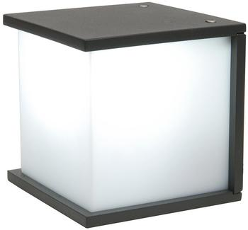 OSMOT Eco-Light Außenwandleuchte Box Cube Anthrazit (1846 gr)