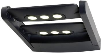 OSMOT Eco-Light LED-Außenwandleuchte 18W Anthrazit (6144S2gr)