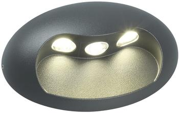 OSMOT Eco-Light LED Außenwandleuchte Eyes anthrazit (1860 L gr)
