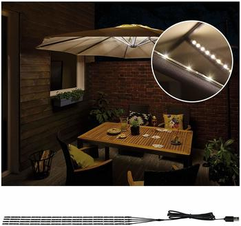 Paulmann Outdoor Mobile LED Parasol 4x0.4m (942.08)