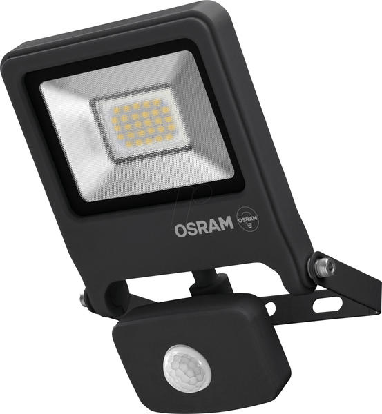 OSRAM ENDURA FLOOD 30 W SENSOR Außen LED-Flutlicht Kippbar 22,6 cm mit Bewegungs