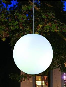 Epstein Design Hängeleuchte Snowball 50cm mit Dämmerungsschalter (75325)